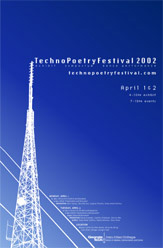 TechnoPoetry Festival poster