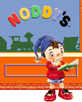 I made a sing-a-long for the PBS Kids show, Noddy's Playhouse. So, sing along with the wacky characters of the children's show, Noddy's Playhouse. This was while I was at Pop! Multimedia.